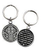 Metal Keyring:  IRISH