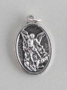 Silver Oxide Medal: St Michael Archangel (ME02219)