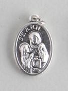 Silver Oxide Medal: St Anne (ME02221)