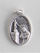 Silver Oxide Medal: St Rita (ME02224)