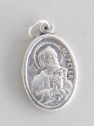 Silver Oxide Medal: ST PETER