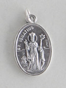 Silver Oxide Medal: St Ignatius (ME02293)