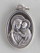 Silver Oxide Medal: Our Lady of Good Counsel (ME022GC)