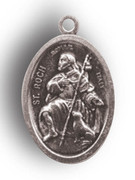 Silver Oxide Medal: ST ROCCO