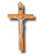 Wall Crucifix, Olive Wood 15cm (CROP15)