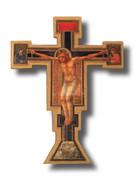 Wall Crucifix, Wood GIOTTO CROSS (CR511)