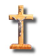 Standing Crucifix: Olive Wood 11cm (CROLLB9)