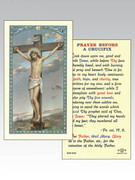 Holy Cards: 800 SERIES - Crucifixion