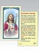 Holy Cards: 800 SERIES - Sacred Heart/Acceptance