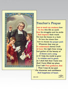 Holy Cards 800 SERIES - Thomas Aquinas/Teacher's Prayer