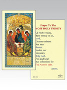 Holy Cards: 800 SERIES - Holy Trinity Icon