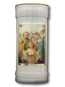 Devotional Candle: Holy Family