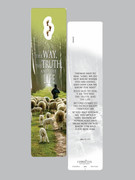 Window Charm Bookmark: John 14 Way Truth Life