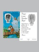 Window Charm Prayer Card, Guardian Angel