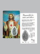 Window Charm Prayer Card, SHJ