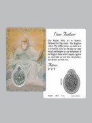 Window Charm Prayer Card, Our Father