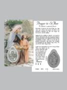 Window Charm Prayer Card: St Ann
