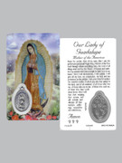 Window Charm Prayer Card: OL Guadalupe