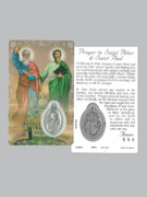 Window Charm Prayer Card: Sts Peter & Paul