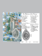 Window Charm Prayer Card: Mysteries of Rosary