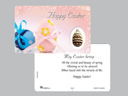 Window Charm Prayer Card: Easter