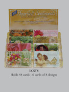 Window Charm Prayer Card: 48 Card Set