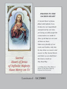 Bookmark: Sacred Heart (pk25)