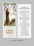 Bookmark: St Francis Assisi