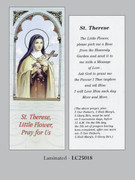 Bookmark: St Therese Little Flower (pk25)