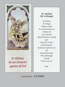 Bookmark: St Michael the Archangel (pk25)