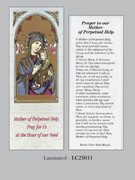 Bookmark: Mother Perpetual Help