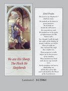 Bookmark: 23rd Psalm Good Shepherd (pk25)