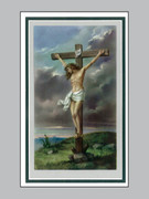 Memorial Cards Pax Series #3 Crucifix