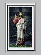 Memorial Cards: Pax Series: Christ Teacher