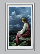 Memorial Cards: Pax Series: Jesus Reflecting