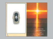 Memorial Cards: Resurrection/ Sunset