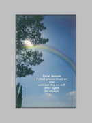 Memorial Cards: Rainbow