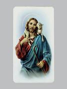 Holy Cards: Alba Series, Jesus as Shepherd