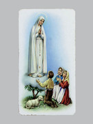 Holy Cards(100) Alba Series  OL Fatima