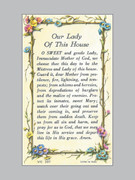 Holy Verse Cards (pkt100): Our Lady of the House
