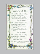 Holy Verse Cards (pkt100): Just for a Day