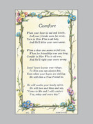 Laminated Holy Verse Cards, Comfort