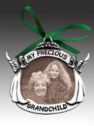 Christmas Ornament/frame, Grandchild(CO605)