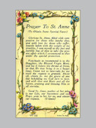 Holy Verse Cards (pkt100): Prayer St Anne