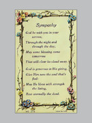 Laminated Holy Verse Cards: Sympathy