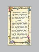 Holy Verse Cards (pkt100): Physician's Prayer