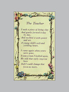 Laminated Holy Verse Cards: A Teacher