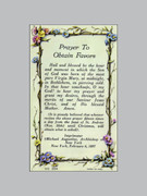 Laminated Holy Verse Cards: Prayer Obtain Favours