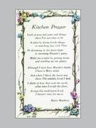Holy Verse Cards (pkt100): Kitchen Prayer