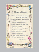 Laminated Holy Verse Cards: House Blessing
